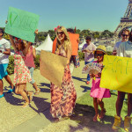 vita hippie manifestation charity party paris