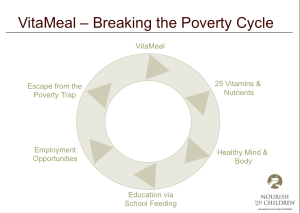 VitaMeal breaking the poverty cycle